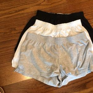 3 pair gym shorts